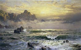 William Trost Richards | Mornings Mist, Guernsey, 1898 | Giclée Canvas Print