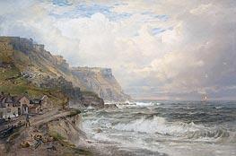 William Trost Richards | Portland Bill, England, c.1885/90 | Giclée Canvas Print