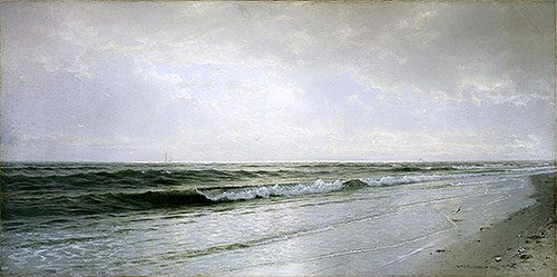 Quiet Seascape, 1883 | William Trost Richards | Painting Reproduction
