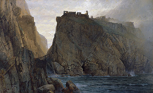 Tintagel on the Cornish Coast, 1879 | William Trost Richards | Painting Reproduction