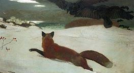 Fox Hunt, 1893 by Winslow Homer | Giclée Canvas Print