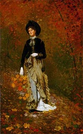 Winslow Homer | Autumn, 1877 | Giclée Canvas Print