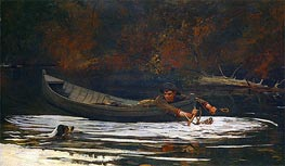 Winslow Homer | Hound and Hunter, 1892 | Giclée Canvas Print