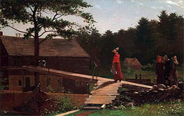 Winslow Homer | Old Mill (The Morning Bell), 1871 | Giclée Canvas Print
