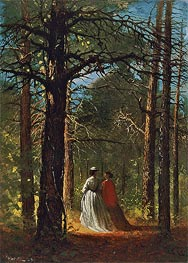Winslow Homer | Waverly Oaks, 1864 | Giclée Canvas Print