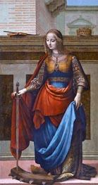Fernando Yáñez | Saint Catherine, c.1510 | Giclée Canvas Print