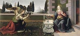 Leonardo da Vinci   The Annunciation, c.1472/75   Giclée Canvas Print