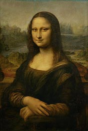 Leonardo da Vinci | Mona Lisa (La Gioconda), c.1503/06 by | Giclée Canvas Print