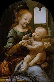 Leonardo da Vinci | Benois Madonna, c.1478 | Giclée Canvas Print