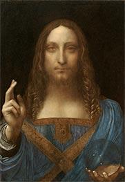 Salvator Mundi, c.1500 by Leonardo da Vinci | Giclée Canvas Print